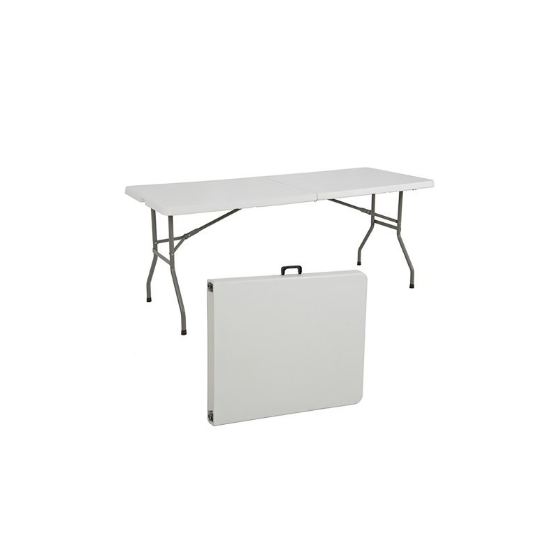 Foldable White table Medium