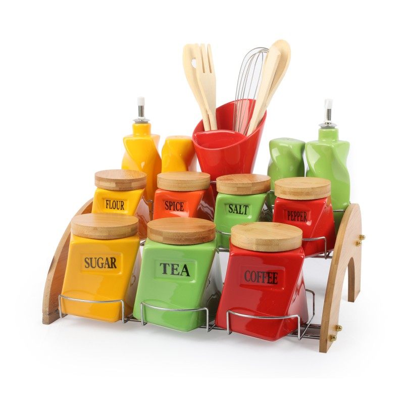 Multicolor Kitchen set square JCC7039