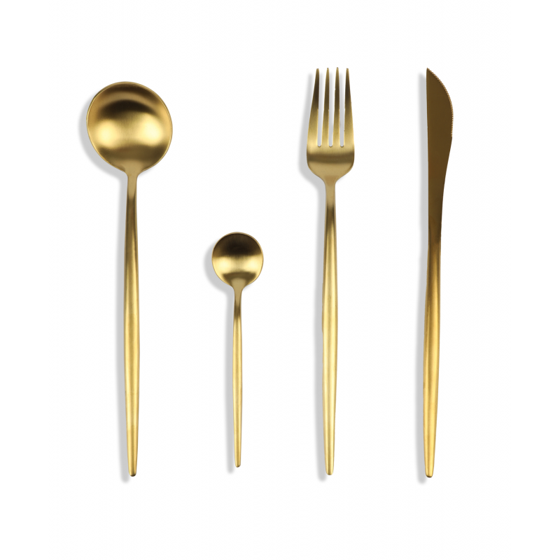 Cutlery Set LZ-18801 Gold
